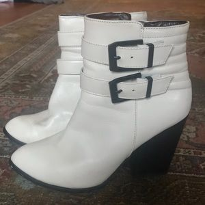 Ivory Booties